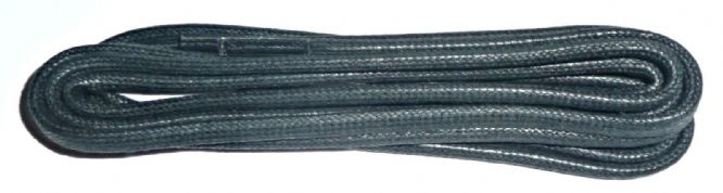Quality Cord Waxed Flat Shoe Laces 75cm in Black